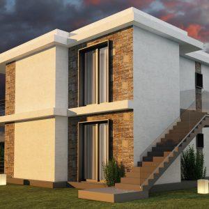 Новый проект апартаментов, Бодрум